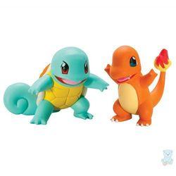 Pokemon Waleczne Figurki Squirtle i Charmander TOMY