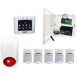System Alarmowy 5x Czuka Bosch + Ropam OptimaGSM-PS + TPR-2W-O + Sygnalizator