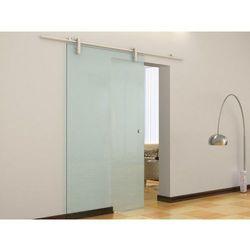 Naścienne drzwi przesuwne CLEAVER - wys. 205 × szer. 83 cm - Szkło hartowane