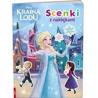 Książki dla dzieci, Kraina Lodu. Scenki z naklejkami (opr. miękka)