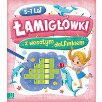 Książki dla dzieci, Łamigłówki z wesołym delfinkiem 5-7 lat (opr. broszurowa)