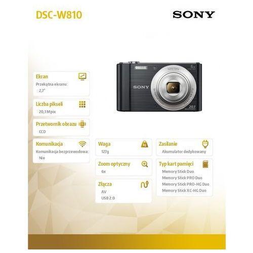 Aparaty kompaktowe, Sony Cyber-Shot DSC-W810
