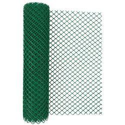 Siatka ogrodzeniowa z tworzywa sztucznego typ 300HD zielona 60 cm x 500 cm