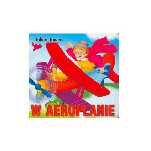Książki dla dzieci, W aeroplanie (opr. kartonowa)