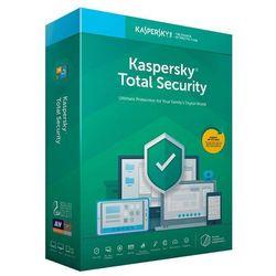 Oprogramowanie antywirusowe Kaspersky Total Security Multi-device 1Y 3D - KL1919PCCFS- Zamów do 16:00, wysyłka kurierem tego samego dnia!