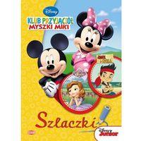 Książki dla dzieci, Disney Junior. Szlaczki SZL5 (opr. miękka)