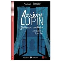 Książki do nauki języka, Lectures ELI Juniors - Arsene Lupin + CD Audio (opr. miękka)