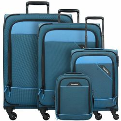 Travelite Derby zestaw walizek / komplet / set / niebieski - niebieski ZAPISZ SIĘ DO NASZEGO NEWSLETTERA, A OTRZYMASZ VOUCHER Z 15% ZNIŻKĄ