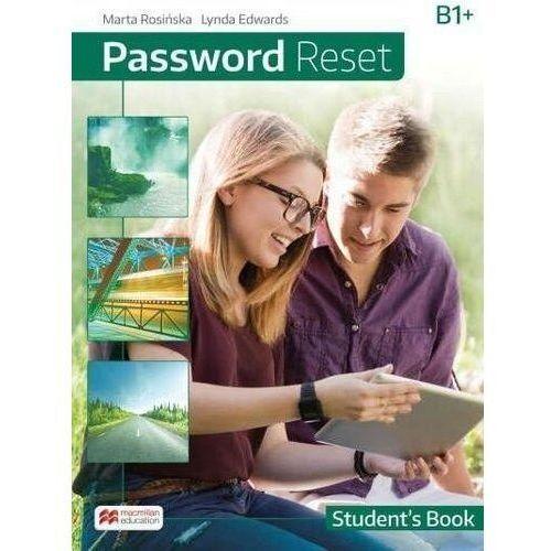 Książki do nauki języka, Password reset b1+ książka ucznia + książka cyfrow - edwards lynda, rosińska marta (opr. broszurowa)