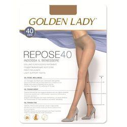 Golden Lady Podkolanówki Mini Repose 40 • ROZMIAR: 3/4 M/L • KOLOR: MELON