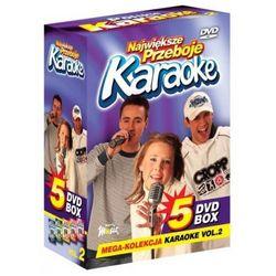 Największe Przeboje Karaoke VOL. 2 - Mega Kolekcja Karaoke (5 płyt DVD)