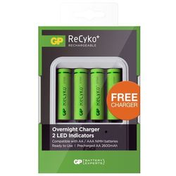 Akumulator GP BATTERY Recyko+ AA 2600 mAh (4 szt.) + Zamów z DOSTAWĄ JUTRO!