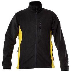 LAHTI PRO Bluza polar czarno - żółta rozmiar L /L4010103/