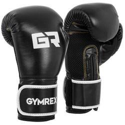 Rękawice bokserskie - 16 oz - czarne