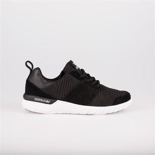 Męskie obuwie sportowe, buty SUPRA - Scissor Black/Black-White (003) rozmiar: 45.5