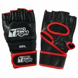 Rękawice MMA Gloves Profilfight PU czarne GEL r. M