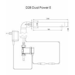 Bateria Umywalkowa Bezdotykowa Sensor Fotokomórka Stern D28