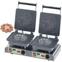 Gofrownica podwójna | Heart Waffle L | 400V / 4,4kW