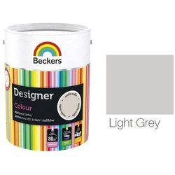 BECKERS DESIGNER COLOUR- farba lateksowa, Light Grey, 2.5 l