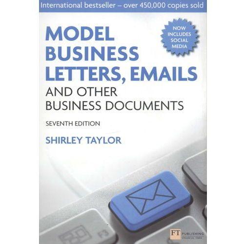 Biblioteka biznesu, Model Business Letters, Emails and Other Business Documents (opr. miękka)