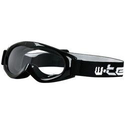 Dziecięce motocyklowe okulary W-TEC Spooner, Biały