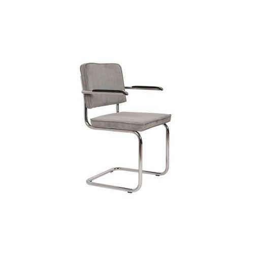 Fotele, Zuiver Fotel RIDGE RIB szary 32A 1200062