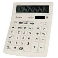 Kalkulatory, Kalkulator biurowy VECTOR KAV VC-444W