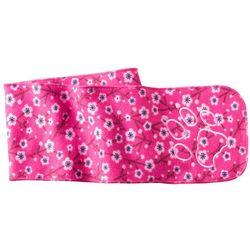Szalik dla dziecka PRINT SCARF KIDS pink fuchsia allover - ONE SIZE