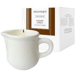 Świeca do masażu Białe Piżmo Organique Happy-sklep