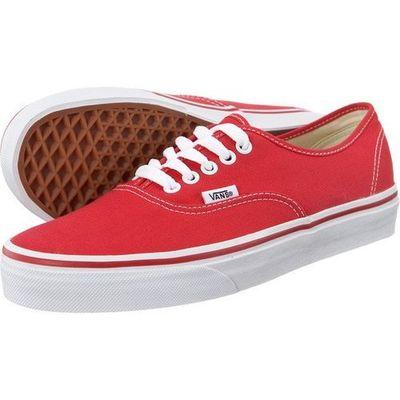 zniżki z fabryki buty do separacji znana marka Vans authentic red