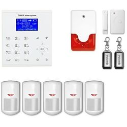 Alarm bezprzewodowy gsm + WiFi E8 R5 + syrena 105 dB - E8 R5 + syrena 105 dB E8 r5 przewodowa (-12%)