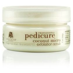 Cuccio Pedicure Coconut | Kokosowy peeling do stóp 56g