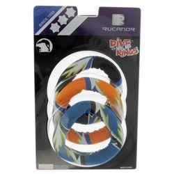Zabawki do nauki nurkowania Rucanor Ringo 3 sztuki