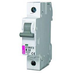 Wyłącznik nadprądowy 1P C 10A 6kA AC ETIMAT 6 002141514 ETI-POLAM