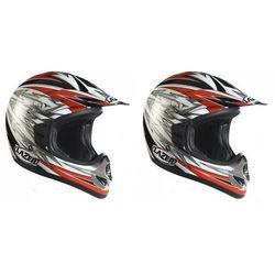 LAZER Kask OFF-ROAD X5 Voltage czarny/czerwony