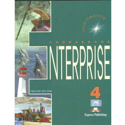 Książki do nauki języka, Enterprise 4 Intermediate Coursebook (opr. kartonowa)