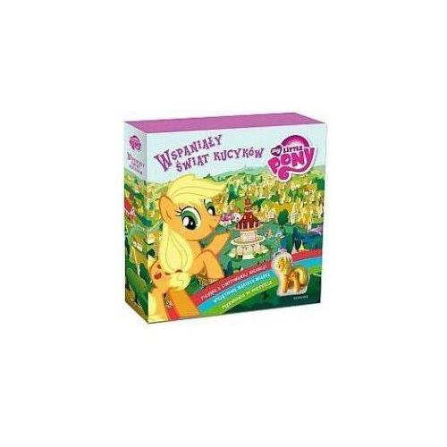 Książki dla dzieci, Wspaniały świat kucyków - Marta Jamrógiewicz (opr. kartonowa)