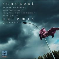 Pozostała muzyka rozrywkowa, STRING QUARTETS ROSAMUNDE DEATH AND THE MAIDEN QUARTET IN G MAJOR - Artemis Quartet (Płyta CD)