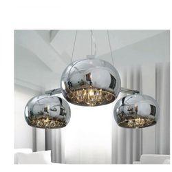 Lampa wisząca crystal potrójna bzl, p0076-03r marki Zuma line