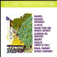 Pozostała muzyka rozrywkowa, MERCURY LIVEING PRESENCE: RAVEL, IBERT - Paray Paul (Płyta winylowa)