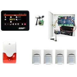 Domowy system alarmowy Ropam NeoGSM-IP-PS + 4xBosch+ TPR-4B + Sygnalizator