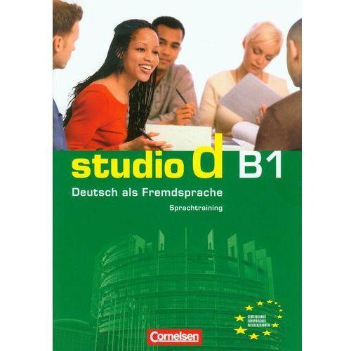Książki do nauki języka, Studio d B1 Sprachtraining z płytą CD (opr. miękka)