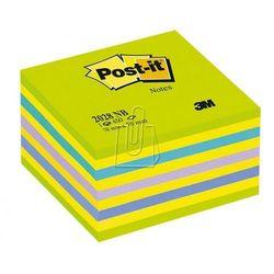 Karteczki POST-IT kostka 2028-NB 76x76 - nieb/ziel