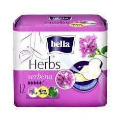 Podpaski Bella Herbs wzbogacone werbeną 12 szt. wyprzedaż