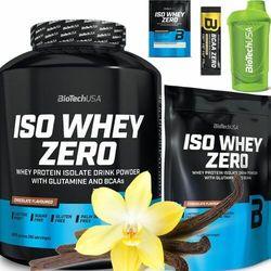 BIOTECH ISO WHEY ZERO 2270g + 500g +Shaker Gratisy