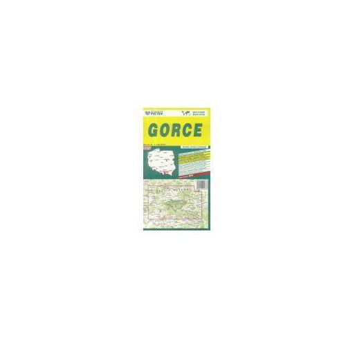 Mapy i atlasy turystyczne, Gorce 1:50 000 mapa turystyczna PIĘTKA (opr. broszurowa)