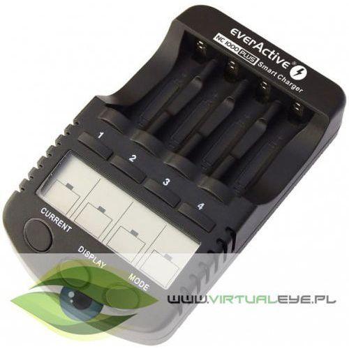 Ładowarki do akumulatorków, Ładowarka procesorowa everActive NC-1000 PLUS do akumulatorków AA/AAA