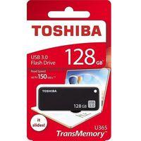 Flashdrive, Toshiba U365K 128GB USB 3.0 (czarny)