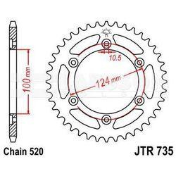 Zębatka tylna stalowa JT 735-37, 37Z, rozmiar 520 2301047 Ducati Supersport 900