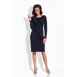 L151 czarna sukienka